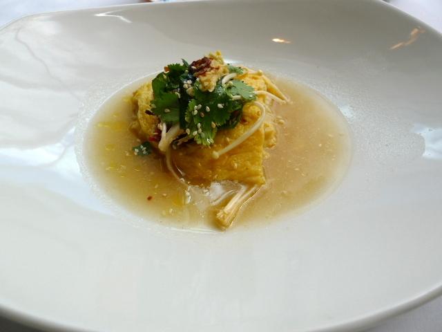 Glass Brasserie - Snow crab omelette