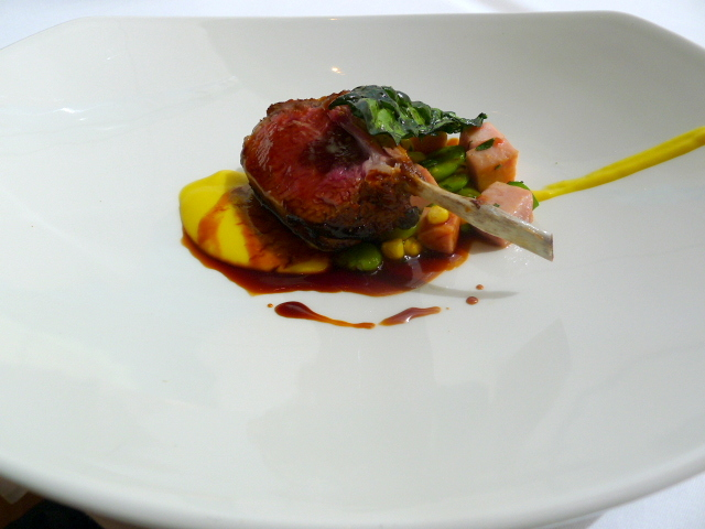 Glass Brasserie - Lamb