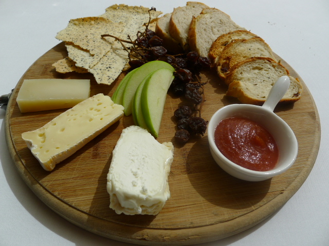Glass Brasserie - Cheeses