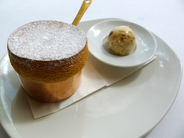 Glass Brasserie - Toffee soufflé