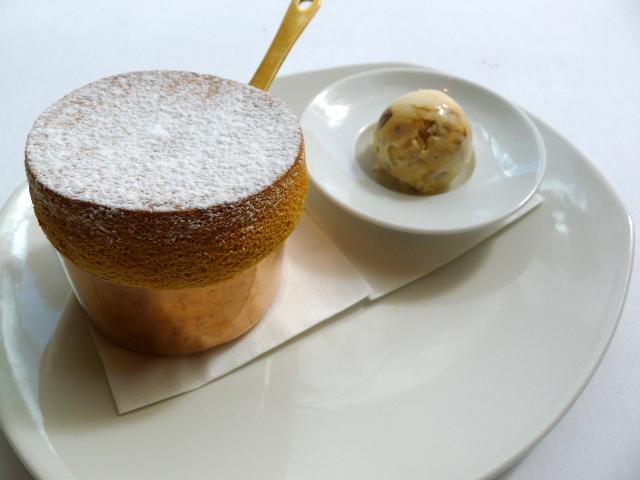 Glass Brasserie - Toffee soufflé