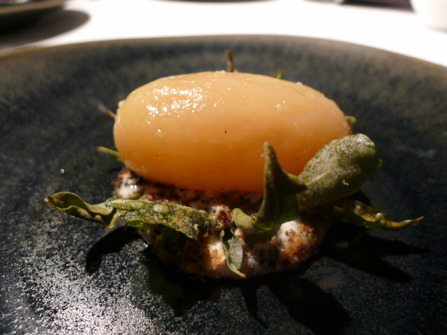 Attica Restaurant - Potato cooked in its own earth