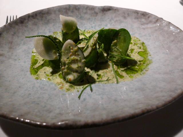 Attica Restaurant - Cucumbers