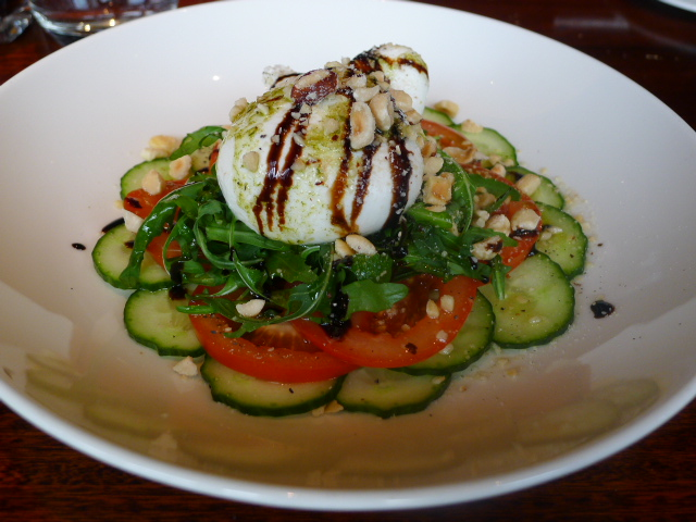 The Meat Co - Burrata cheese salad