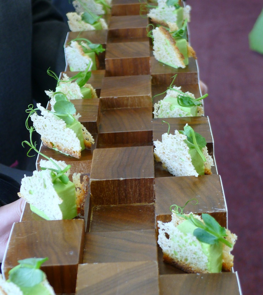 Royal Ascot 2014 - Pea pannacotta