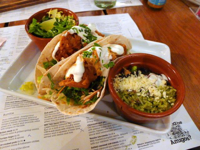Wahaca - Fish tacos