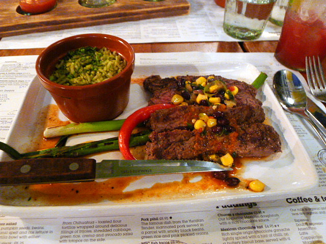 Wahaca - British steak