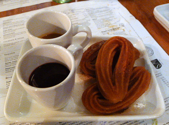 Wahaca - Churros y chocolate