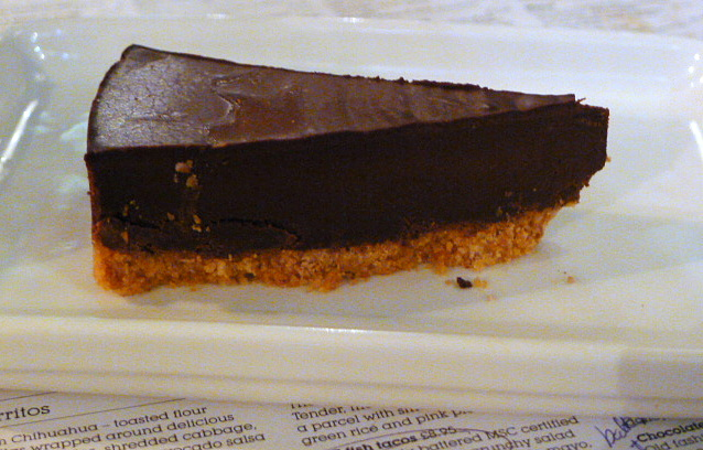 Wahaca - Mexican chocolate tart