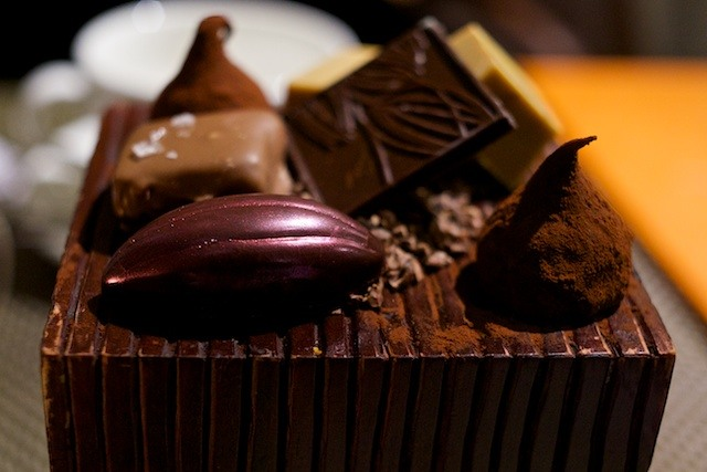 Caxton Grill - Chocolates
