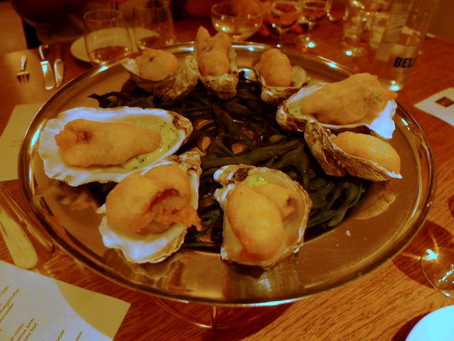Hix Soho - Fried oysters