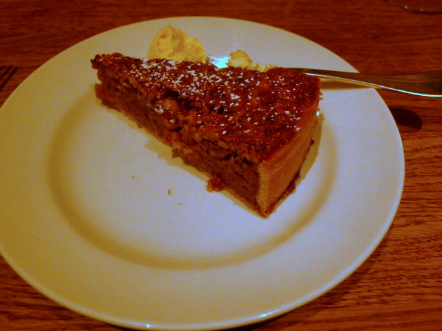 Hix Soho - Shipwrecked tart