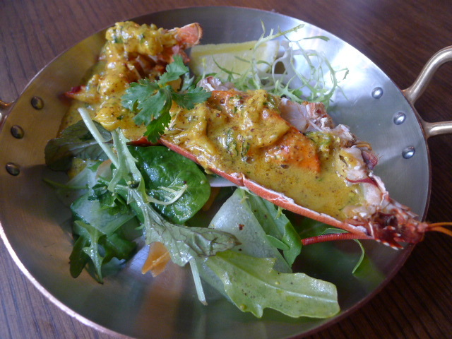 Scarfes Bar - Lobster with Bengali spices