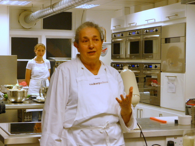 Cookery School - Our charming host, Rosalind