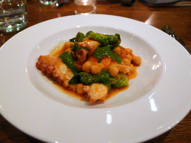 Cafe Murano - Octopus