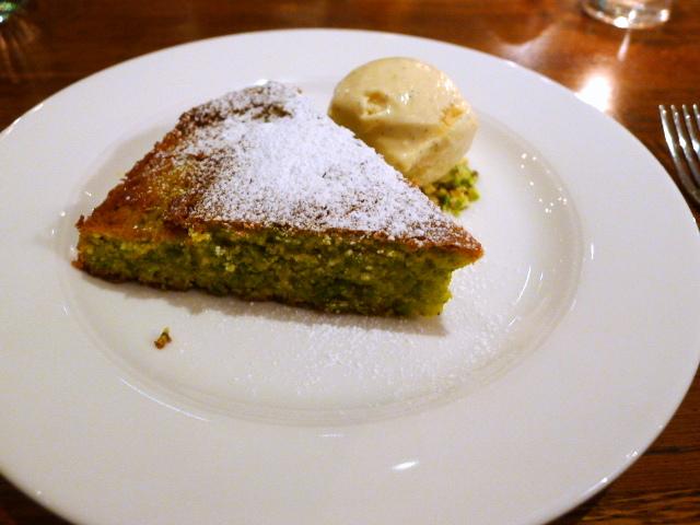 Cafe Murano - Pistachio cake
