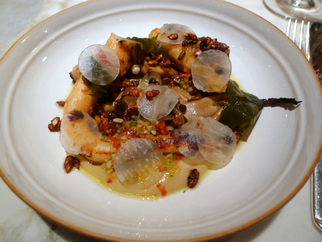 Chiltern Firehouse - Grilled octopus