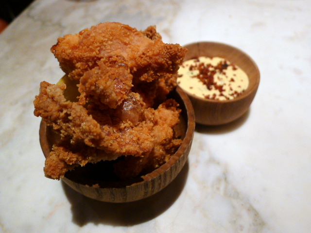 Chiltern Firehouse - Fried chicken