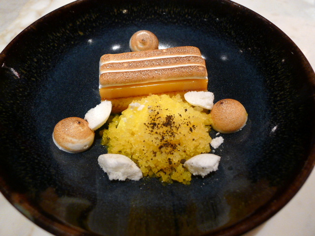 Chiltern Firehouse - Citrus tart