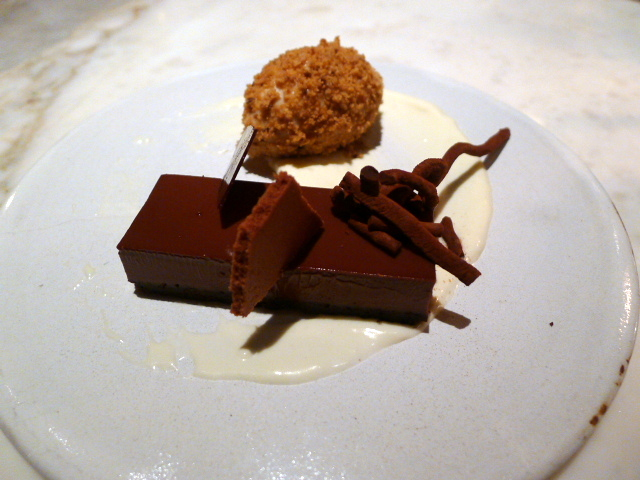 Chiltern Firehouse - Chocolate tart
