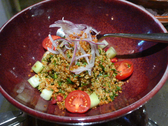 Coya Restaurant & Bar - Quinoa salad