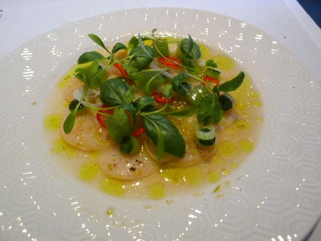 Brasserie Chavot - Ceviche of scallops