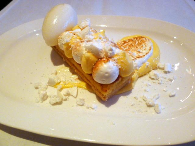 Brasserie Chavot - Lemon tarte