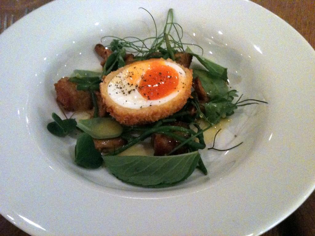 Hix Selfridges - Foraged salad