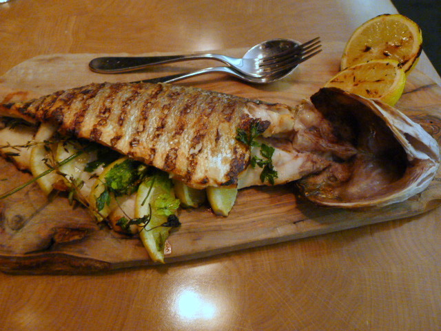 5&33 Restaurant - Grilled sea bass