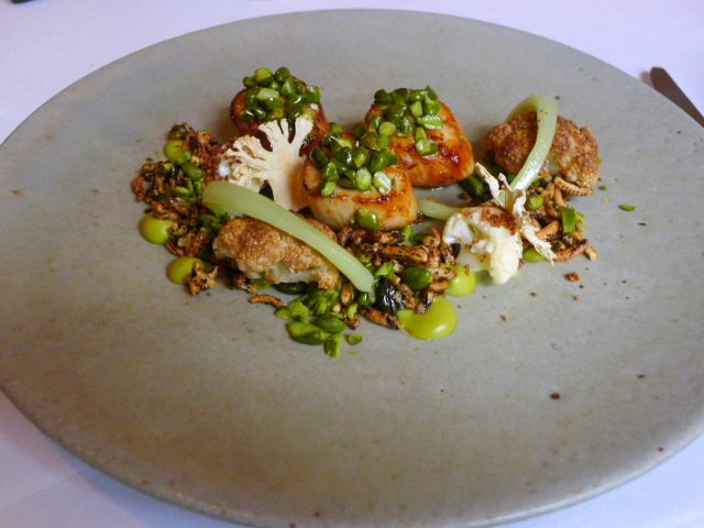The Five Fields - Orkney scallops