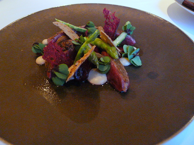 The Five Fields - Pigeon two ways