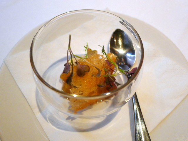 The White Swan - Crab salad