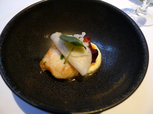 The White Swan - Sautéed monkfish