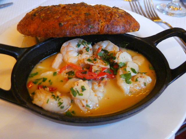 Balthazar - Garlic prawns