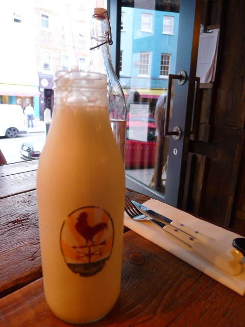 Barnyard - Vanilla milkshake with rum
