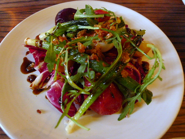 Bibo - Baby leek salad