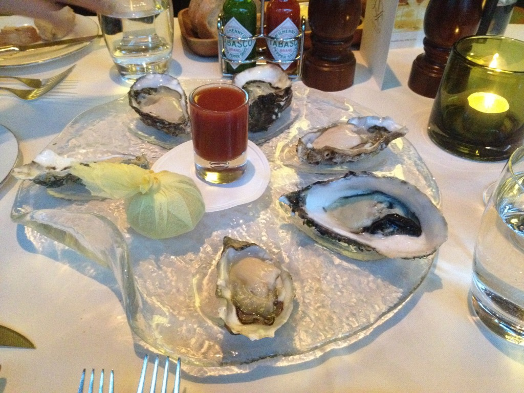 The Rib Room - Oysters