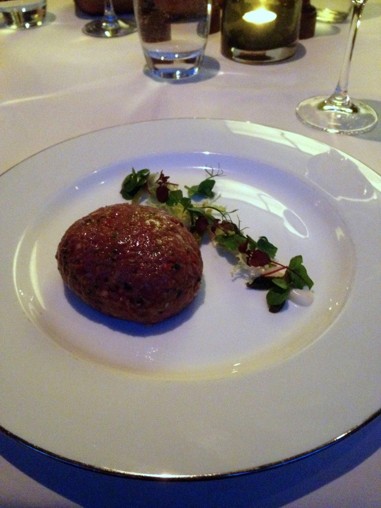 The Rib Room - Beef tartare
