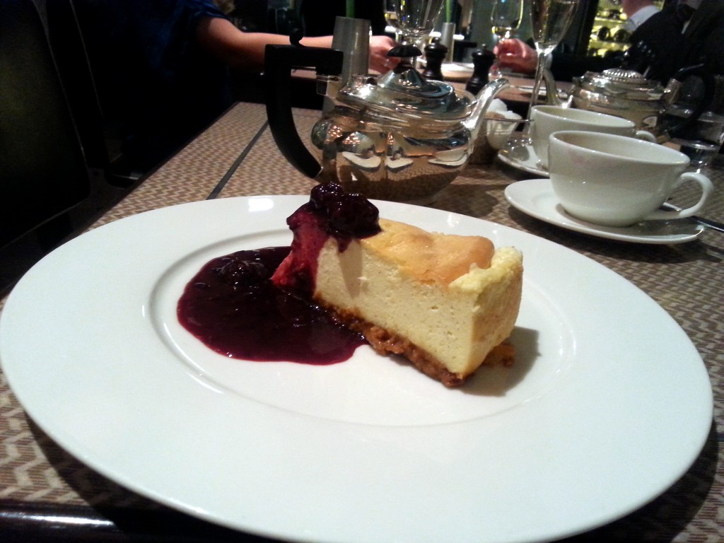 One Canada Square - New York cheesecake