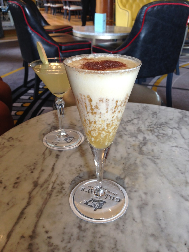 Gillray's - Amazing pina colada cocktail