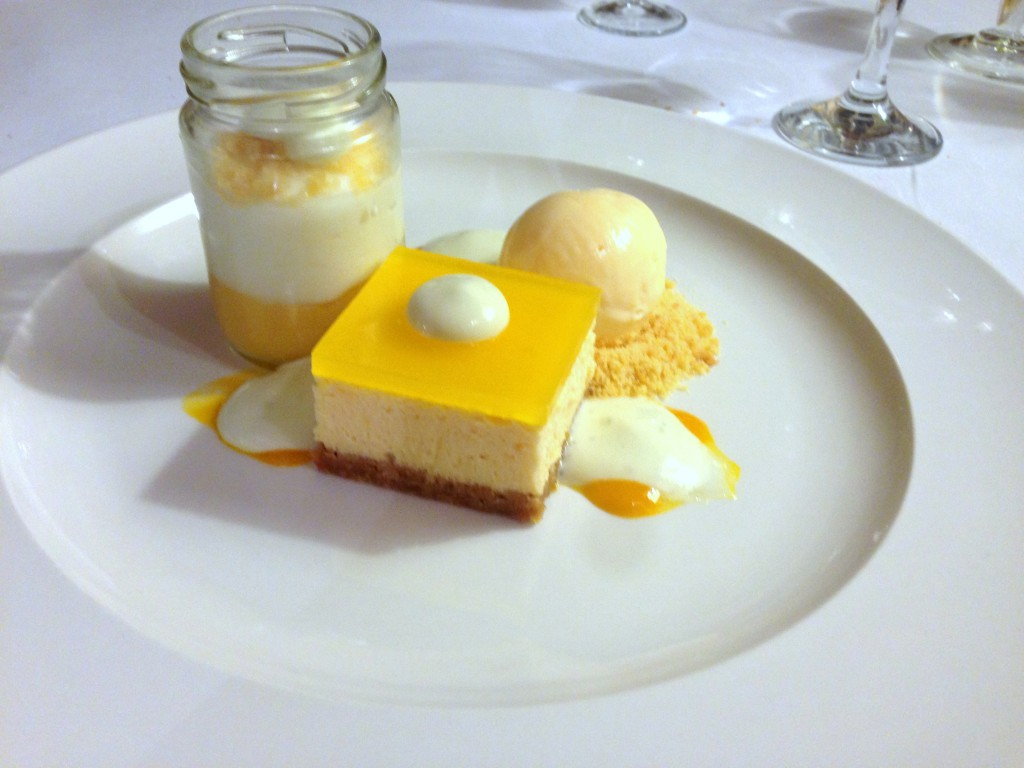 Ox Pasture Hall Hotel - Lemon dessert