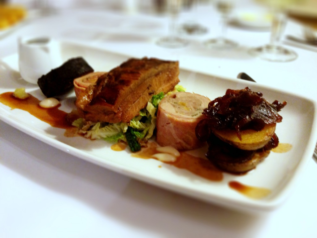 Ox Pasture Hall Hotel - Pork belly