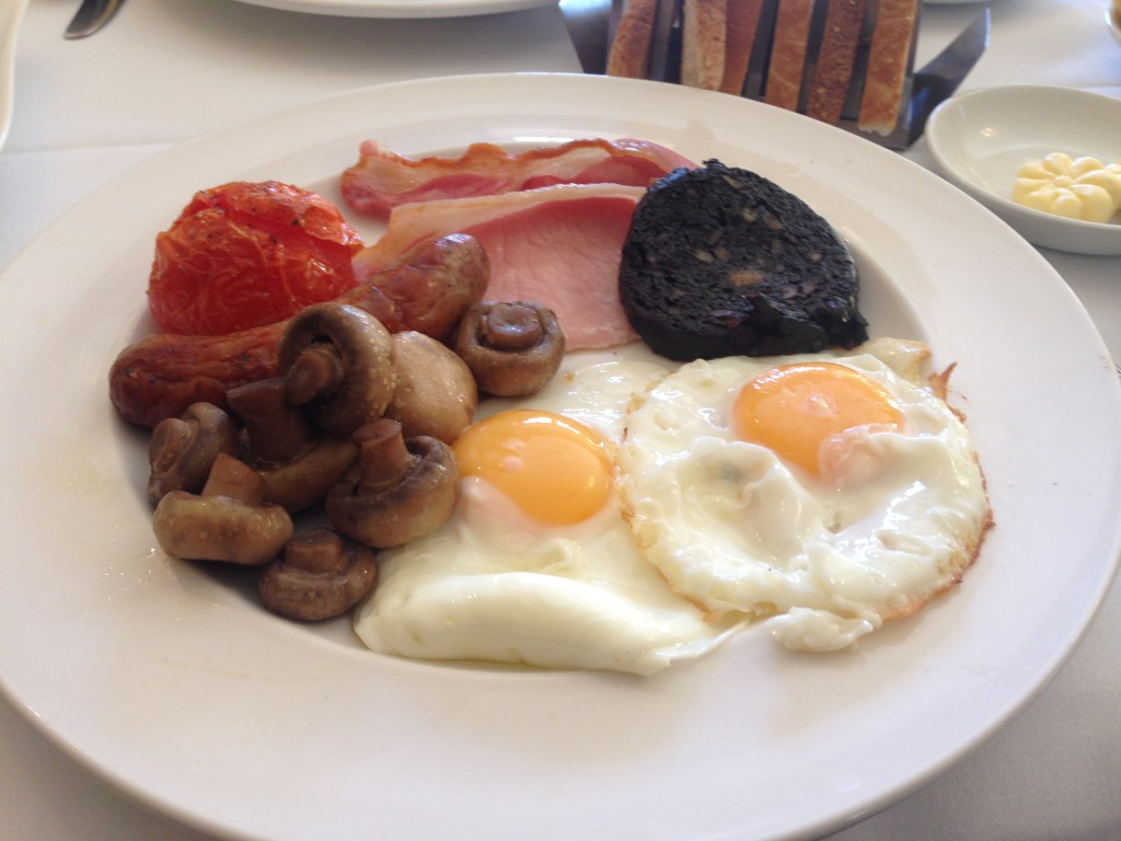 Ox Pasture Hall Hotel - Sunny Yorkshire breakfast