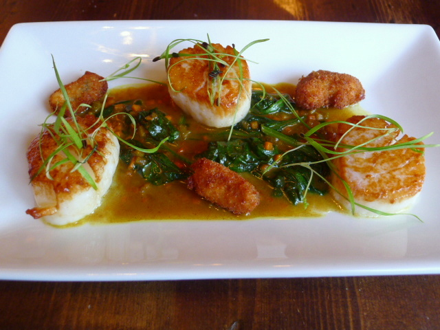 The White Hart - Scallops