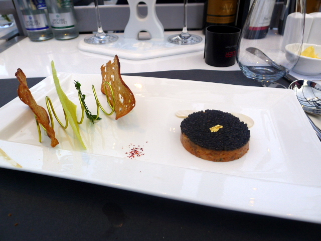 London in the Sky - Salmon tartar