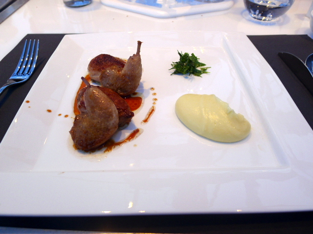 London in the Sky - Free-range quail
