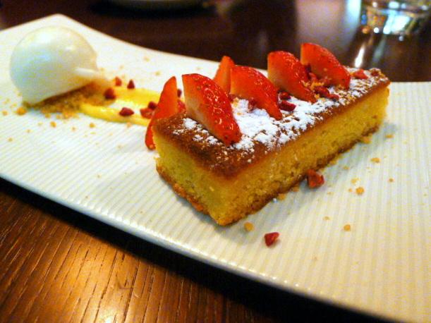 Cucina Asellina – Lemon polenta cake