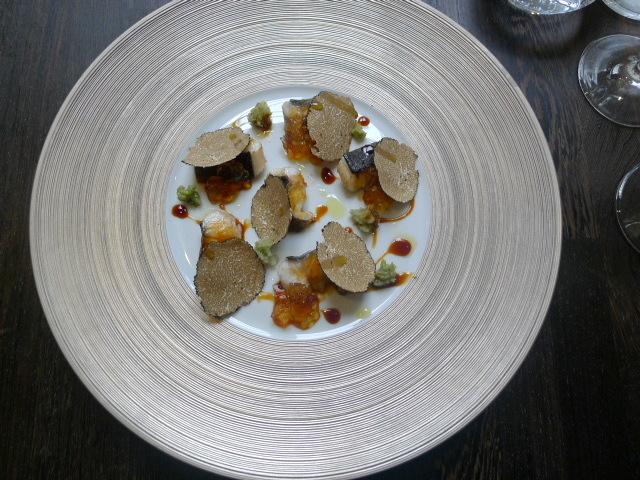Yashin Ocean - Unagi eel with truffle