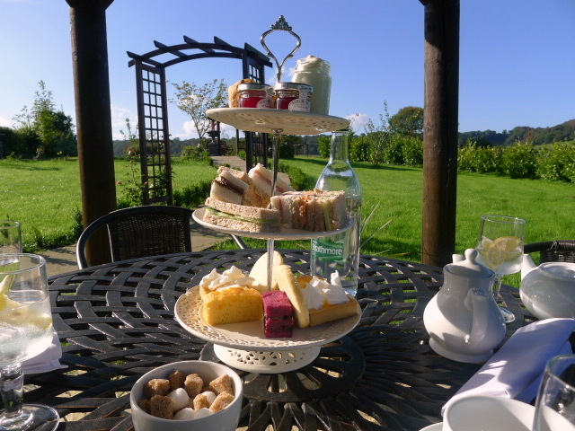 Ox Pasture Hall Hotel - Afternoon tea