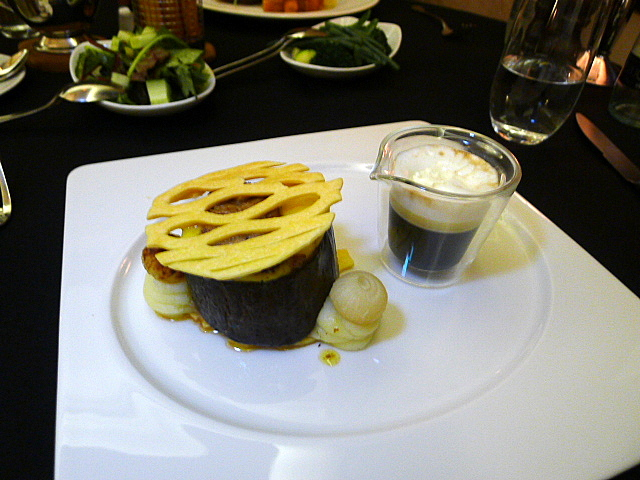 Hudson's Cedar Court Grand - Smoked beef pie